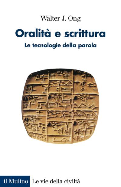 Cover Oralità e scrittura