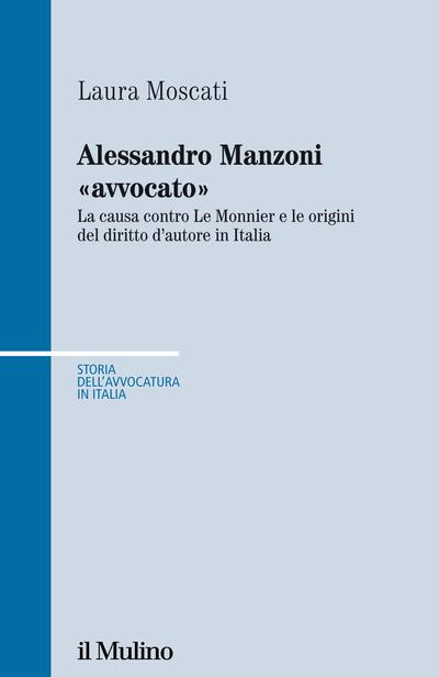 Copertina Alessandro Manzoni