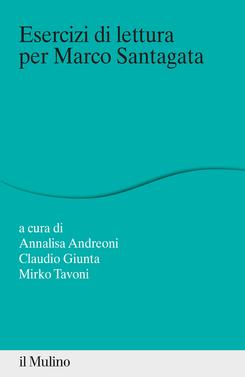 copertina Esercizi di lettura per Marco Santagata