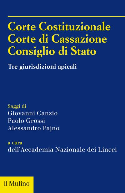 Cover Corte Costituzionale, Corte di Cassazione, Consiglio di Stato